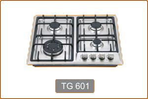 0 TG 601 گازها 4 شعله مس